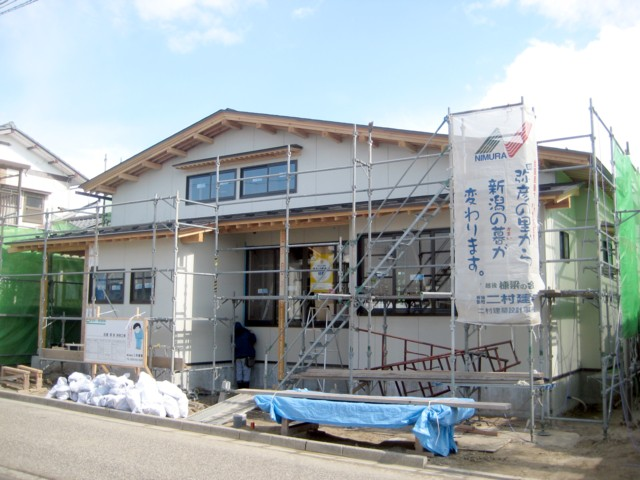寺尾の家 外壁工事_c0170940_167199.jpg