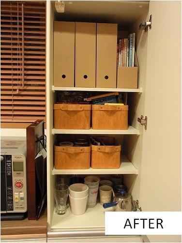 住宅の整理収納作業(キッチン ...