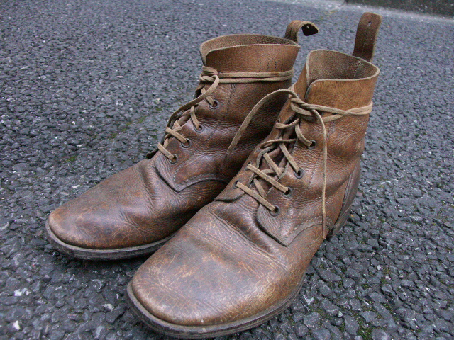 陸軍下士官兵用編上靴 (売却済)  _a0154482_20331450.jpg