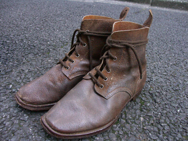 陸軍下士官兵用編上靴 (売却済) _a0154482_21273655.jpg