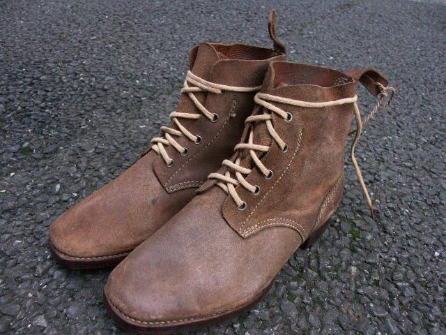 陸軍下士官兵用編上靴 (売却済) _a0154482_21445070.jpg