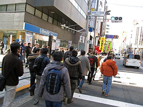 連合春闘 & 新宿西口意思表示_a0188487_2359539.jpg