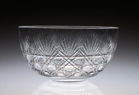 Baccarat Diamond Cut Bowl_c0108595_658103.jpg