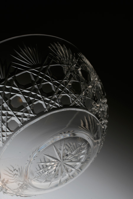 Baccarat Diamond Cut Bowl_c0108595_658331.jpg