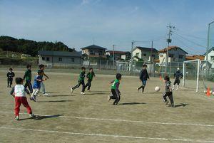 第17回 親子サッカー教室_c0218303_2319393.jpg