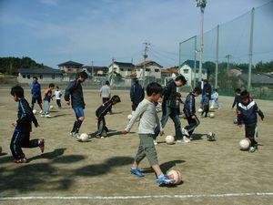 第17回 親子サッカー教室_c0218303_23315796.jpg
