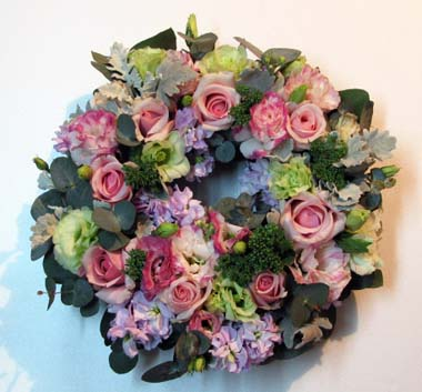 Spring Fresh Flower Wreath_f0134809_15142685.jpg