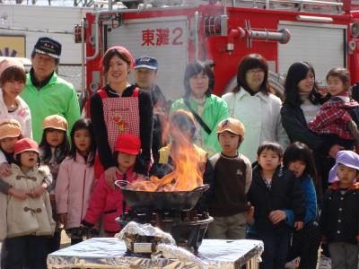 天ぷら火災の恐怖_f0223914_1637335.jpg