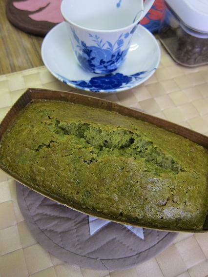 黒豆まっちゃケーキ 2☆_c0205573_17434683.jpg