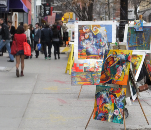 ニューヨークのSOHOでも近づく春の気配_b0007805_1334695.jpg
