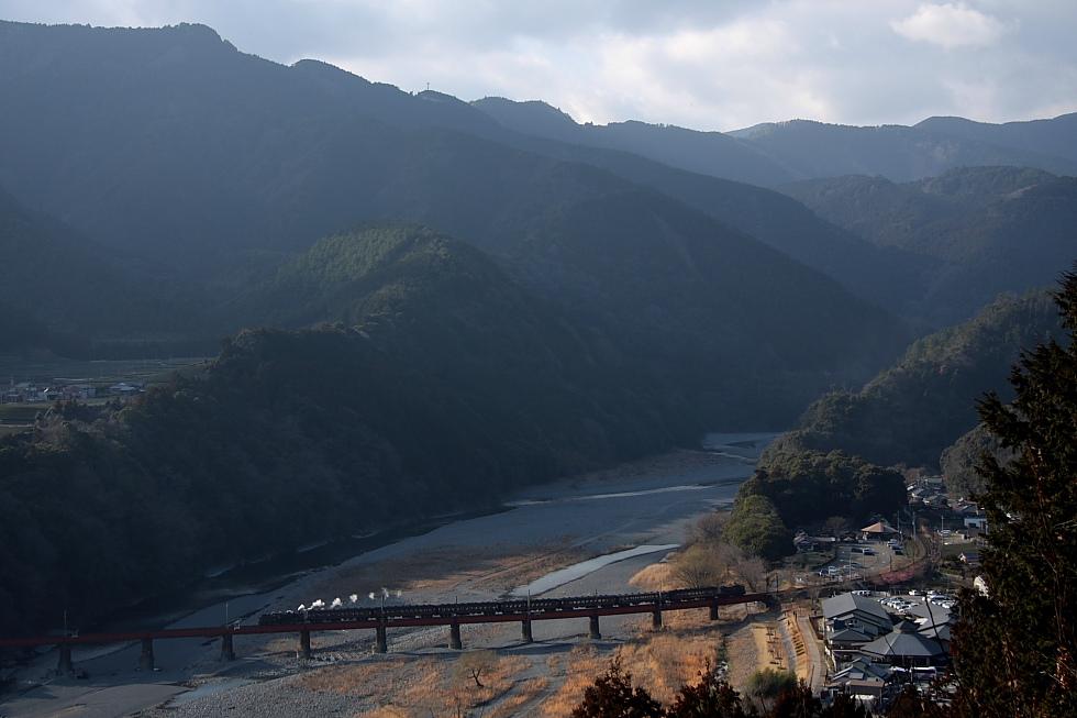 夕方の第一鉄橋 - 2011早春・大井川 -_b0190710_7283845.jpg