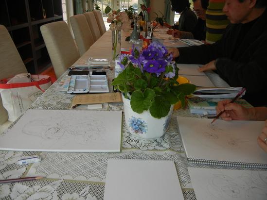 2011年3月7日(月)楽しい水彩画教室!_f0060461_2215986.jpg