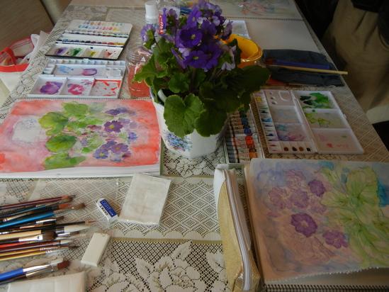 2011年3月7日(月)楽しい水彩画教室!_f0060461_22163424.jpg