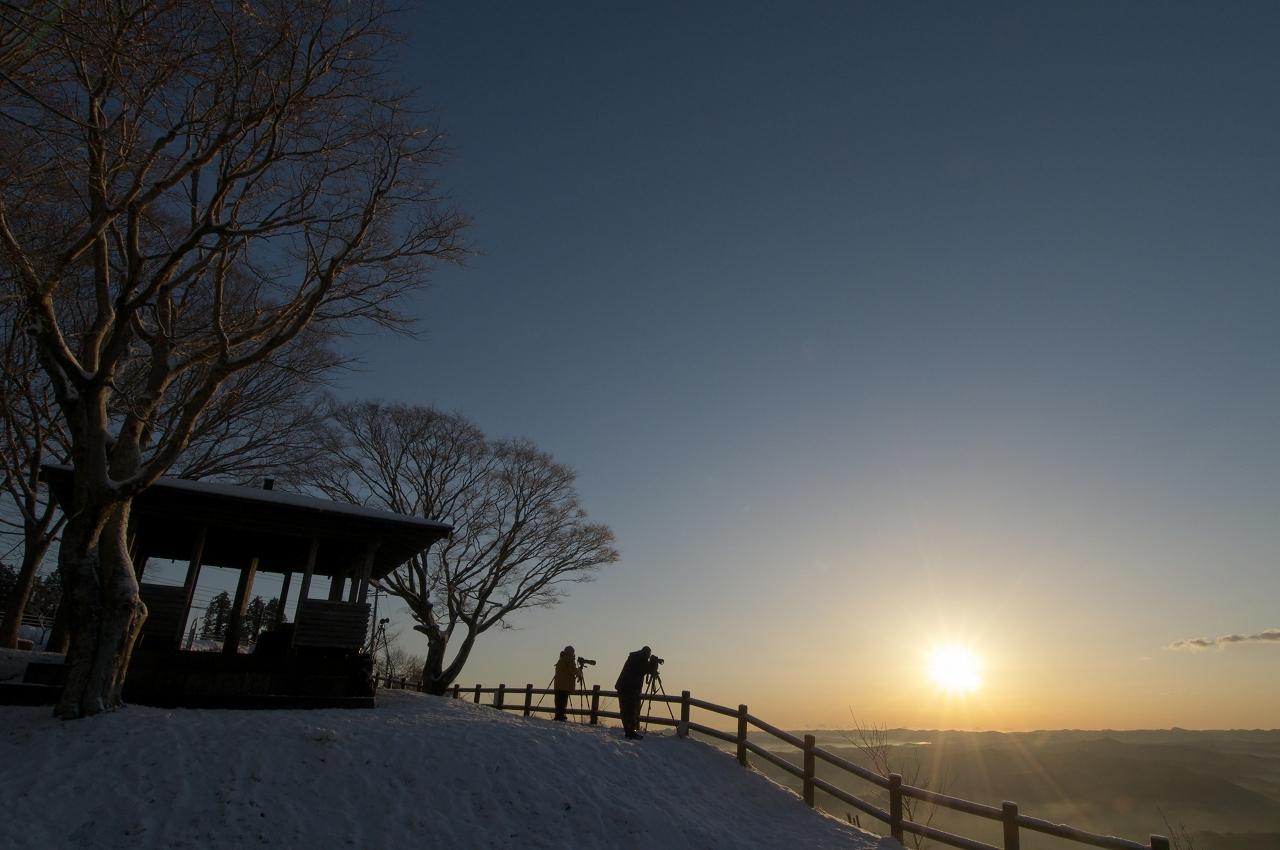 雪の九十九谷展望公園_f0018464_14385098.jpg