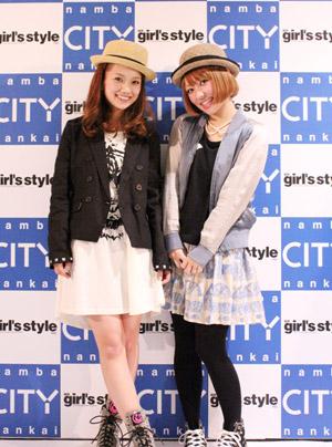近藤夏子、大阪ミナミでファッションショーLIVEで、キュートなモデルたちの中で熱唱!!_e0197970_12341513.jpg
