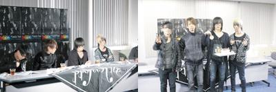Plastic Tree、ニュー・アルバムのリスニングパーティ開催で竜太朗がファンからのHappy Birthdayに感激!!_e0197970_2034871.jpg