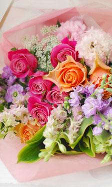 WEDDING 贈呈用花束 **画像リクエストを多くいただくアイテム その4_a0115684_18274110.jpg