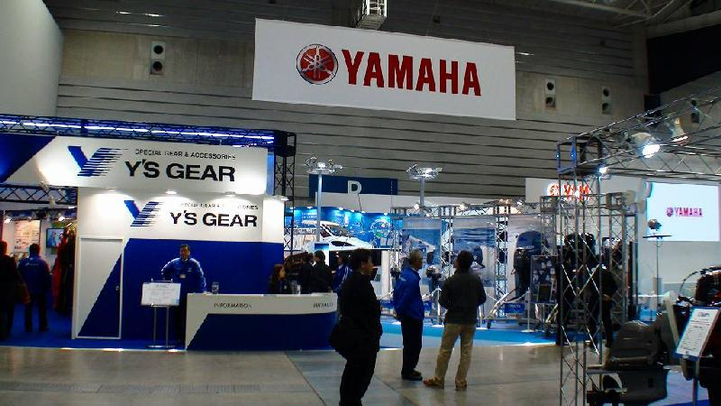 JAPAN INTERNATIONAL BOATSHOW 2011 その3 ヤマハブース1_a0132631_23341141.jpg