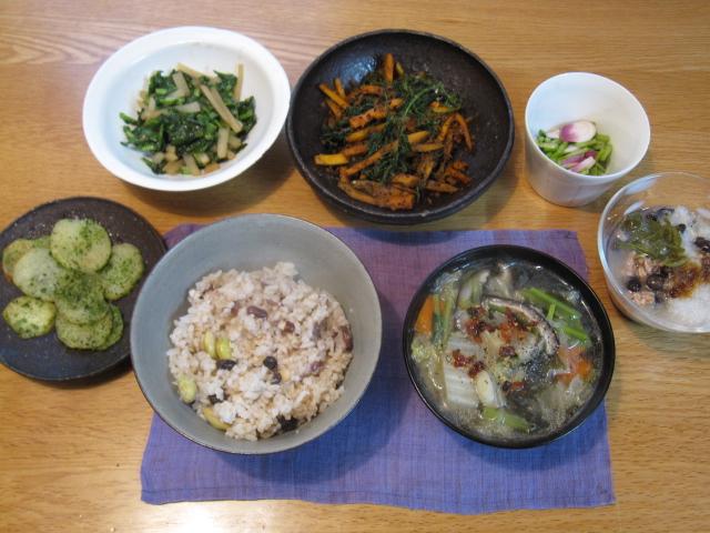 玄米菜食時々魚のうちごはん日記_f0180433_19585552.jpg