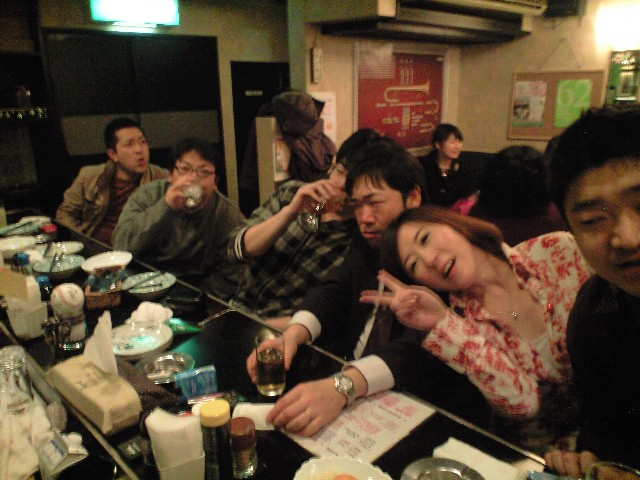 3月5日(土)その2:送別会at宝島。_b0206845_2383036.jpg