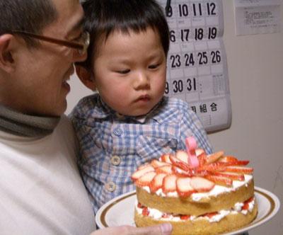 孫のお誕生日の手作り料理 (ちらし寿司 シイラのフライ等)_e0097770_22205772.jpg