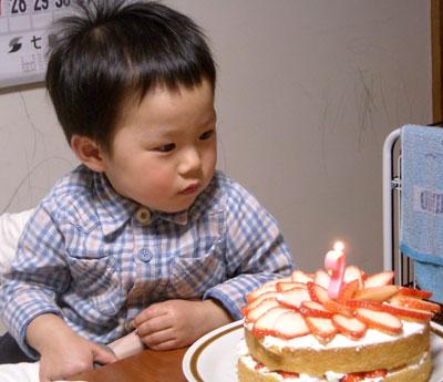 孫のお誕生日の手作り料理 (ちらし寿司 シイラのフライ等)_e0097770_22212091.jpg