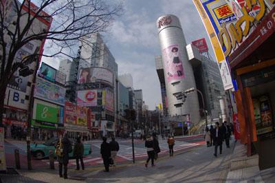 3月8日(火)今日の渋谷109前交差点_b0056983_12205656.jpg