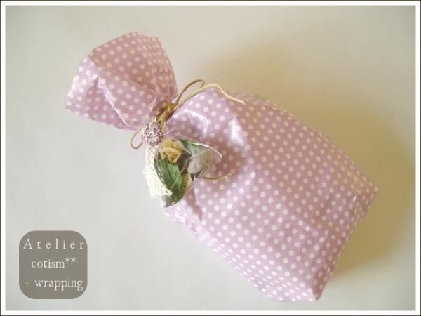 wrapping  ** ベビー靴 **_b0155684_21331638.jpg