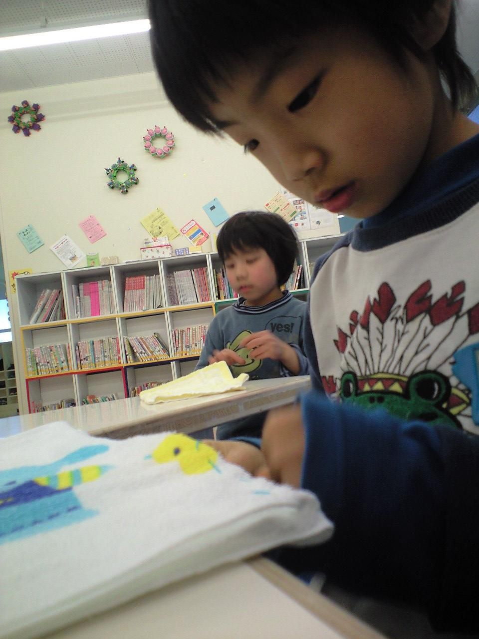 ぬいもの「ぞうきん」~松井山手教室~_f0215199_210599.jpg