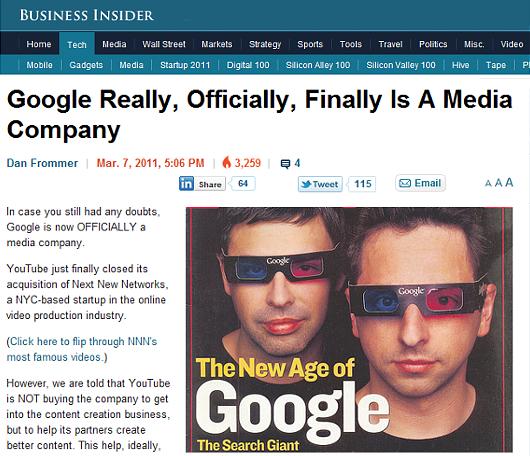 Googleが、今度はニューヨークで映像制作会社を買収!!!_b0007805_1048343.jpg
