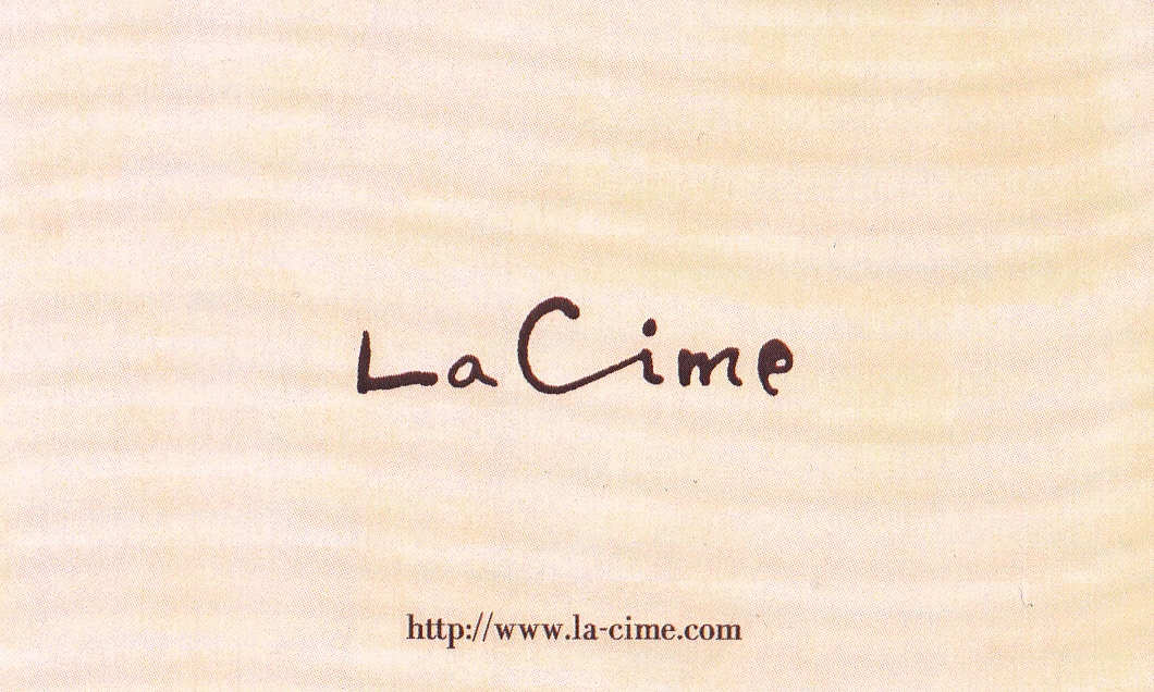 Le CHARBON と La Cime  -3時間コースのガストロノミー(美食)と 郷土料理をベースのフレンチ-_a0194908_9375998.jpg