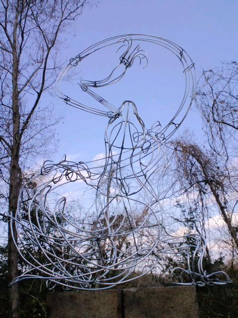 『トカゲのリノ』図面から針金模型、イメージ画まで_e0209927_242267.jpg