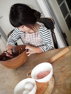 娘とクッキー作り_e0172847_9505635.jpg