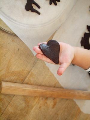 娘とクッキー作り_e0172847_9512480.jpg