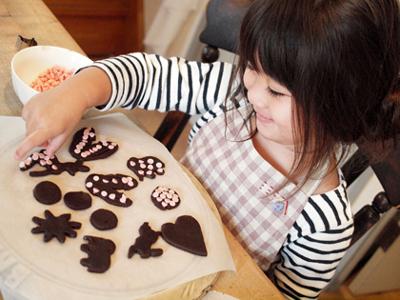 娘とクッキー作り_e0172847_9514656.jpg