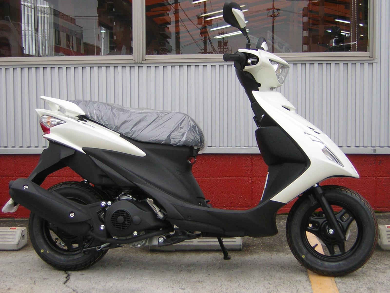 アドレスV125Sスポーツキット装着車_a0169121_17335637.jpg