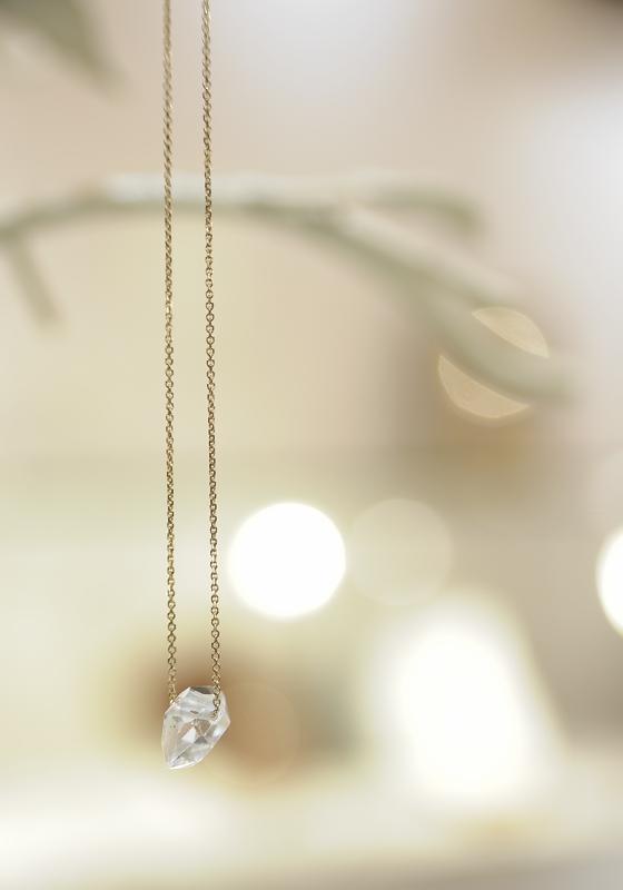nori   大粒ハーキマーダイヤモンドネックレス再入荷です!_c0221922_159223.jpg