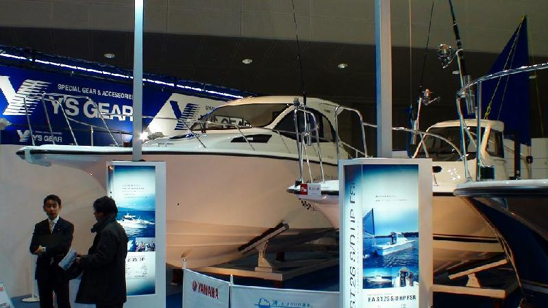 JAPAN INTERNATIONAL BOATSHOW 2011 その4 ヤマハブース2_a0132631_8293243.jpg