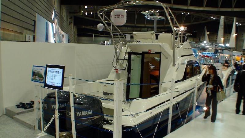 JAPAN INTERNATIONAL BOATSHOW 2011 その4 ヤマハブース2_a0132631_833252.jpg