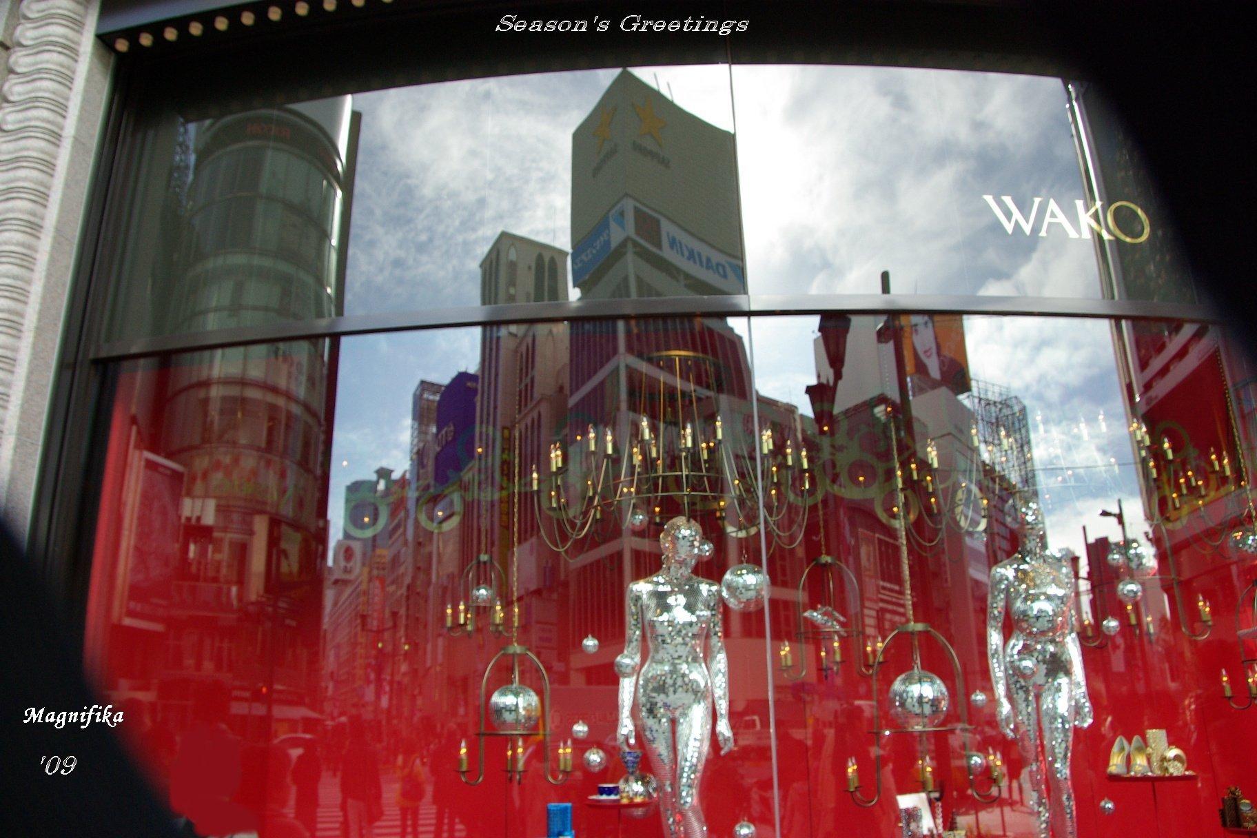 再び銀座のクリスマス Christmas Decoration Views of Ginza, Again_e0140365_20443186.jpg