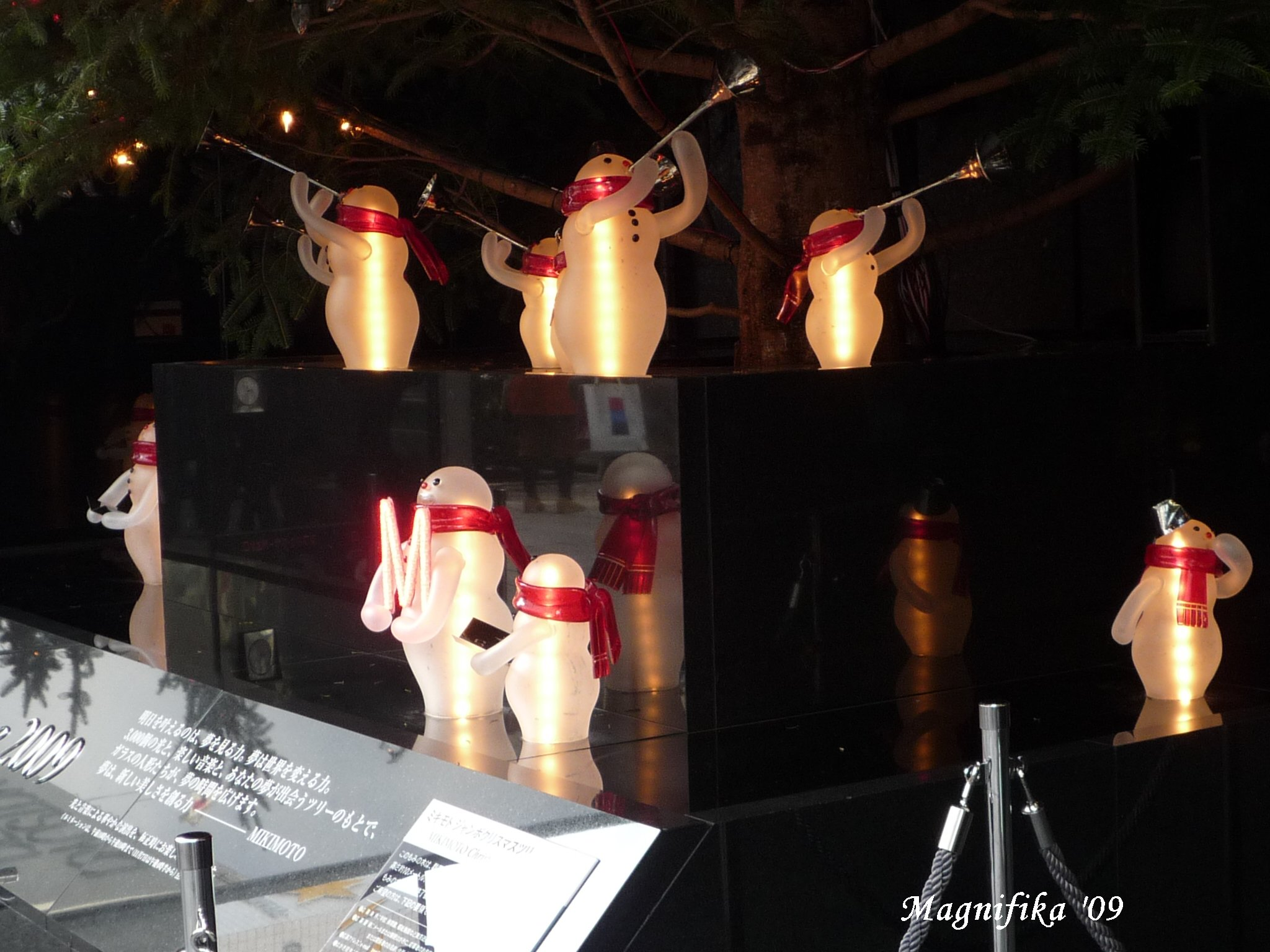 再び銀座のクリスマス Christmas Decoration Views of Ginza, Again_e0140365_20455851.jpg