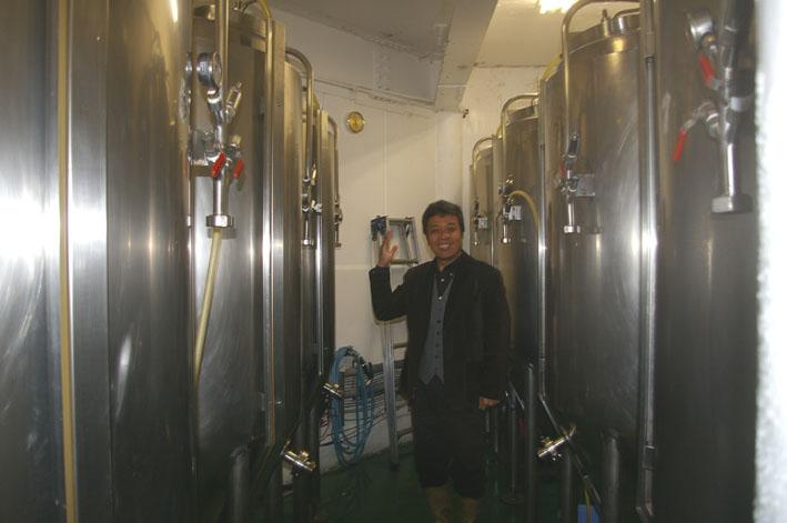 鎌倉ビールを見学、新「北鎌倉の恵み」の商品化で意見交換_c0014967_183571.jpg