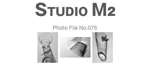 STUDIO M2 Photo File No.076「うすはりグラスとカラス」_a0002672_19293683.jpg