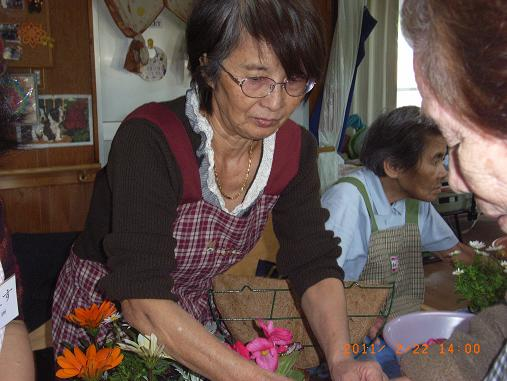 園芸療法☆2月のレク_d0163307_1104742.jpg