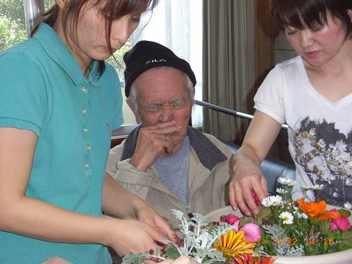 園芸療法☆2月のレク_d0163307_1123672.jpg