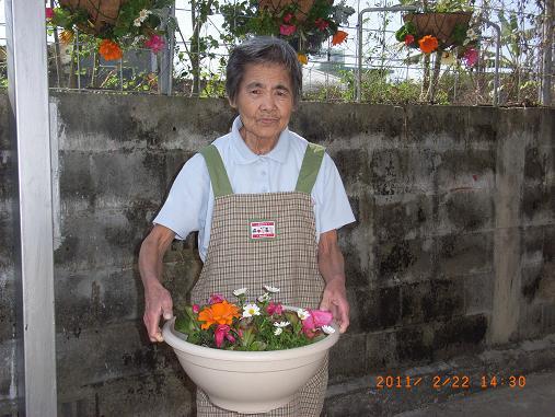 園芸療法☆2月のレク_d0163307_1135456.jpg