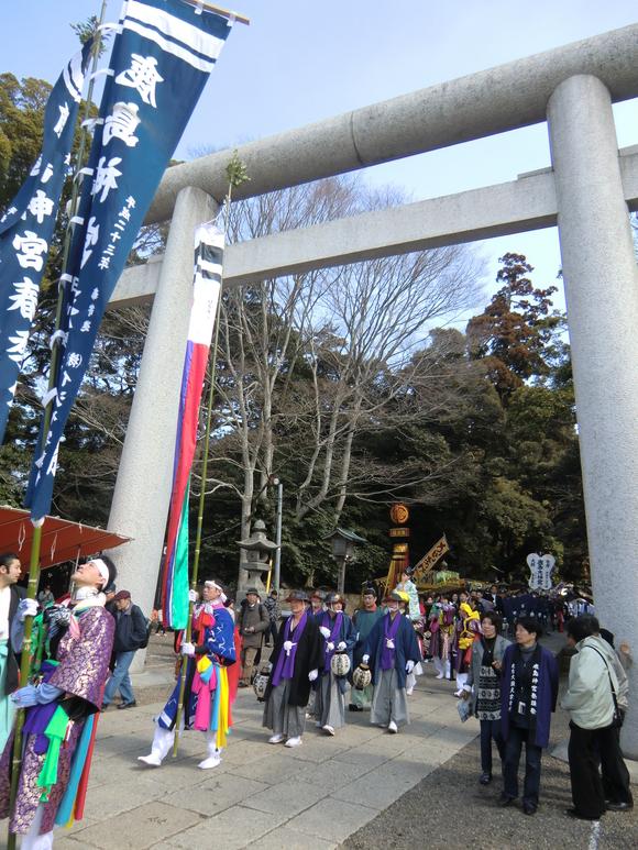 鹿島神宮祭頭祭の写真 その1_f0229750_12572151.jpg