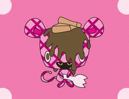 Waffle Micci Pink Chocolate print by E. Scarecrow_c0155077_913562.jpg