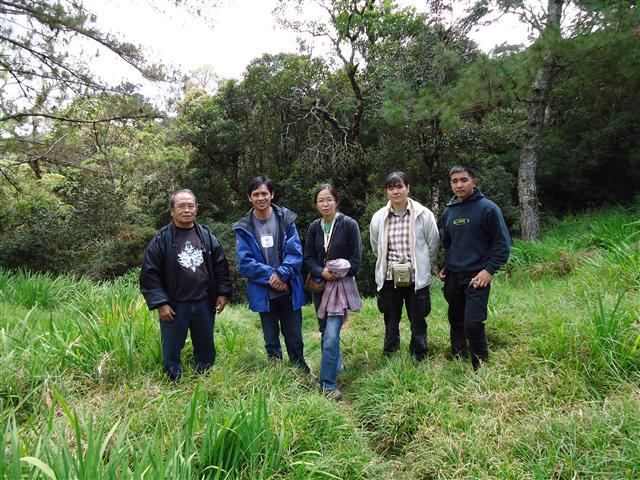 アジア学院の大柳由紀子さん来比。一緒にダータ山国立公園の最後の原生林を視察。_b0128901_18515485.jpg