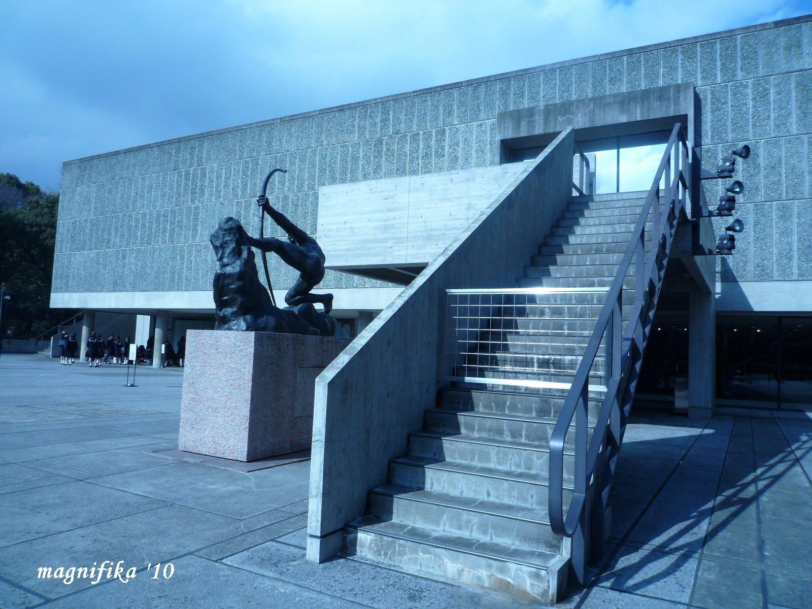 静岡県立美術館 ロダン館-2 Rodin Wing of Shizuoka Pref. Museum _e0140365_2224945.jpg